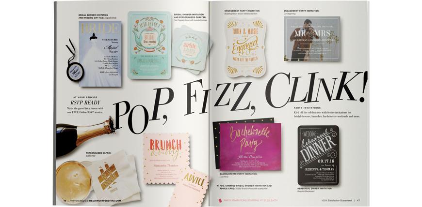 Wedding Paper Divas Catalog Hmm Design Daniel Louie Portfolio