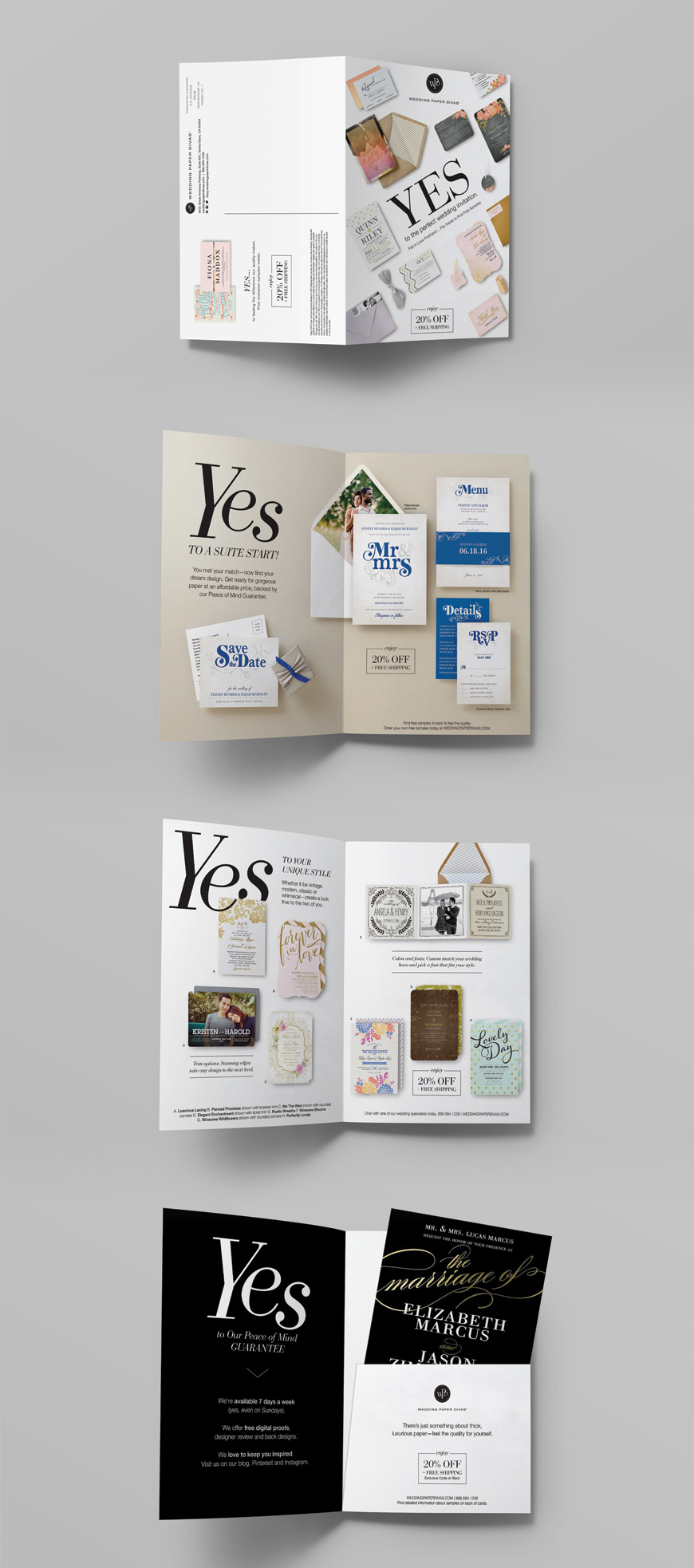 Wedding Paper Divas Direct Mail Hmm Design Daniel Louie Portfolio