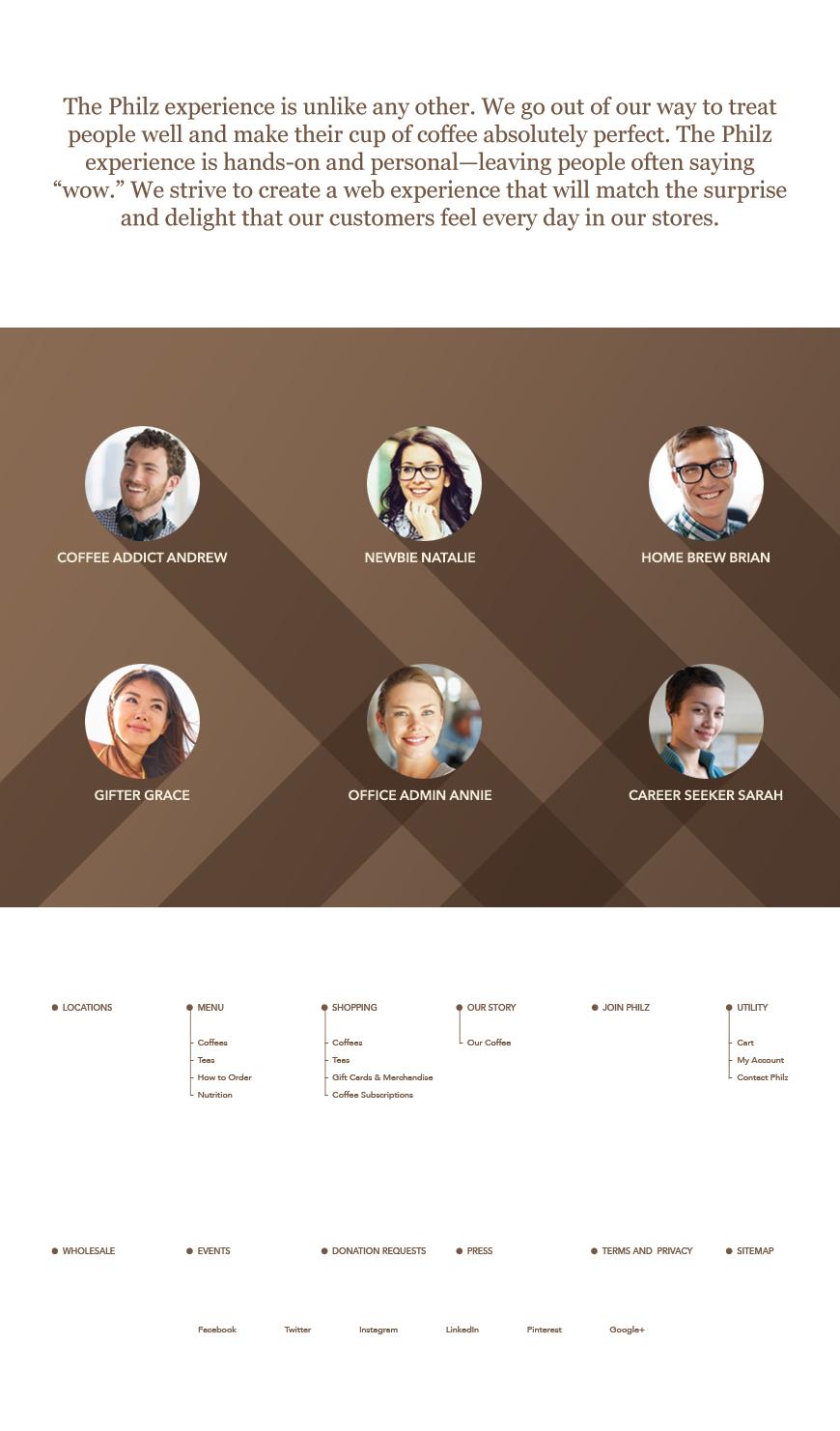 Philz Coffee: Website Design | Hmm Design – Daniel Louie Portfolio